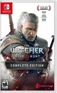 Jogo Nintendo Switch The Witcher 3 Wild Hunt Complete Edition - Português
