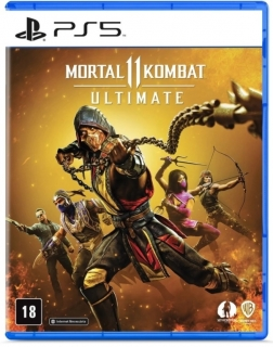 Kit 3 Unidades Mortal Kombat 11 Ultimate PS5 (Playstation 5) - Versao BR