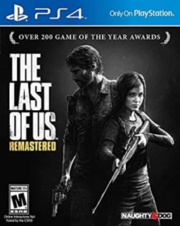 Jogo Usado Mídia Física PS4 The Last Of US Black Label