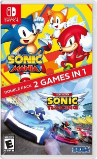 Sonic Mania + Team Sonic Racing Double Pack Nintendo Switch