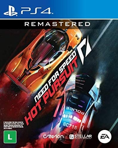 Need For Speed: Hot Pursuit - Remastered PS4 (Playstation 4) - Atacado dos Jogos