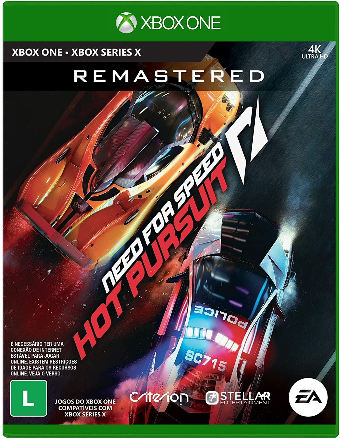 Need For Speed Hot Pursuit Remastered Xbox One - Atacado dos Jogos