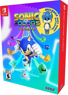 Sonic Colors: Ultimate - Launch Edition Nintendo Switch (com chaveiro)