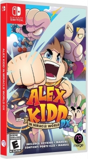 Alex Kidd In Miracle World DX Switch + Extras