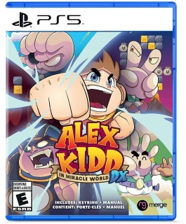 Alex Kidd In Miracle World DX PS5 + Extras