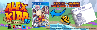 Alex Kidd In Miracle World DX PS4 + Extras