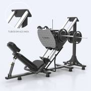 Leg Press 45 - PESO LIVRE - LION FITNESS