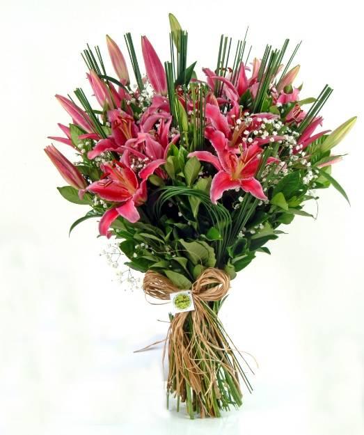 Bouquet de Quartzo Rosa  - Floricultura Cambuí