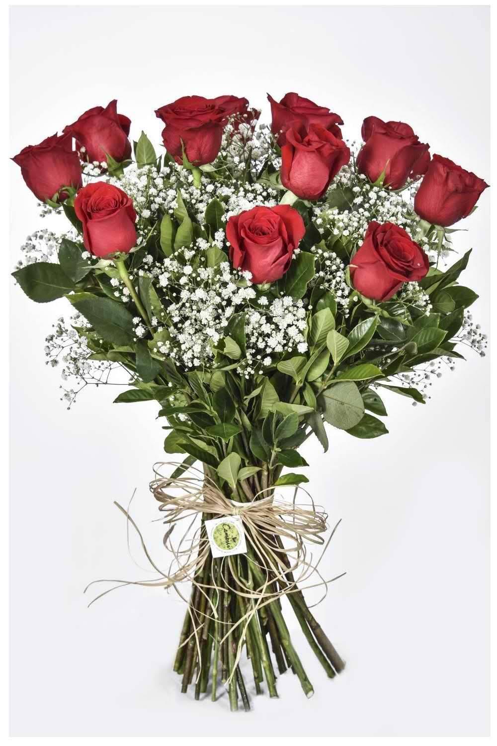 Bouquet Formosura Vermelha - Floricultura Cambuí
