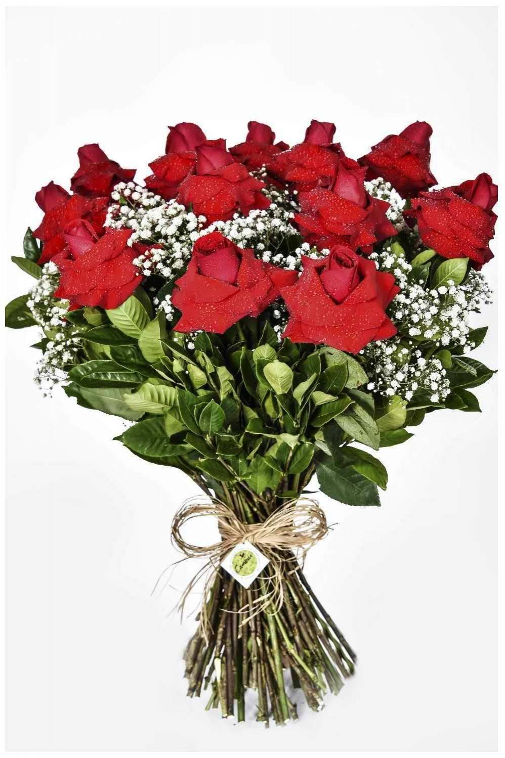 Bouquet Perfeição Vermelho - Floricultura Cambuí