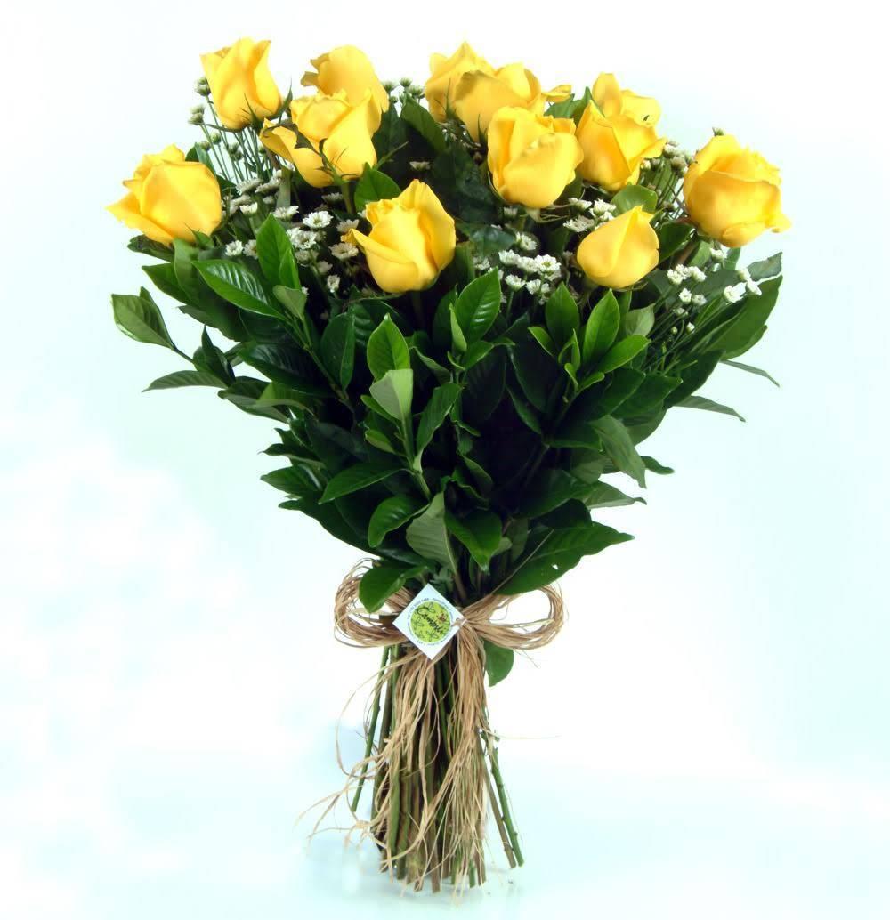Bouquet Sem Fronteiras Amarelo - Floricultura Cambuí