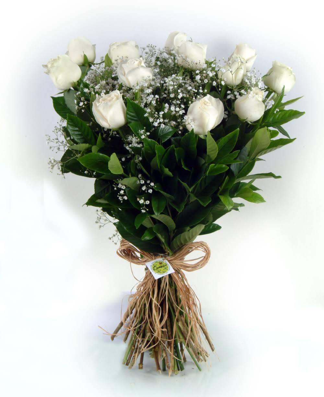 Bouquet Sem Fronteiras Branco - Floricultura Cambuí