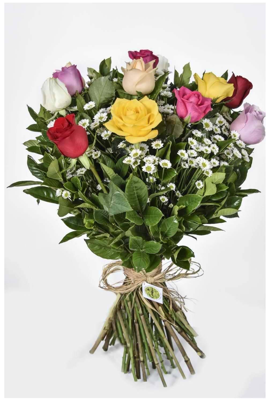 Bouquet Sem Fronteiras Colorido - Floricultura Cambuí