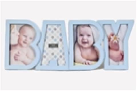 Porta Retrato Baby Azul - Floricultura Cambuí