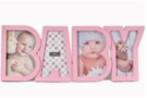 Porta Retrato Baby Rosa - Floricultura Cambuí
