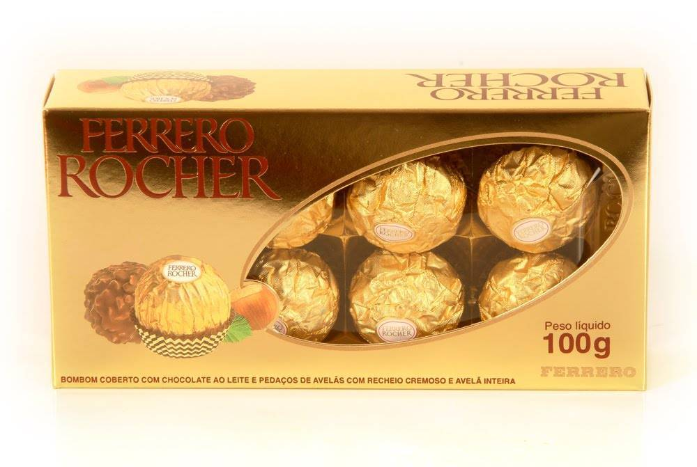 Ferrero Rocher 100g - Floricultura Cambuí