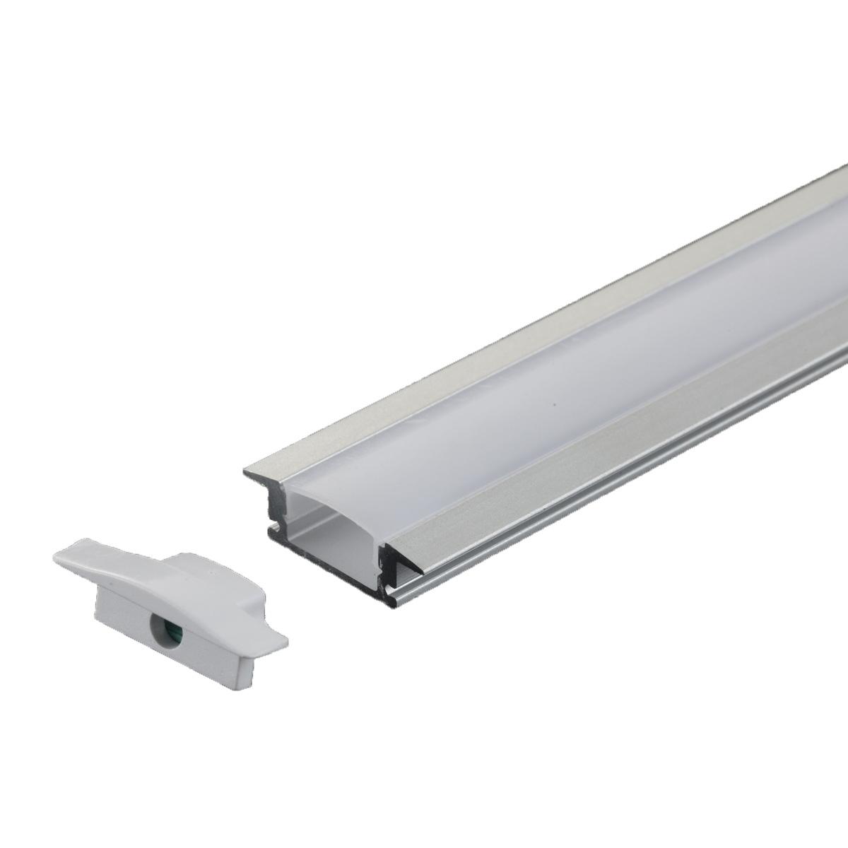 PERFIL 24.5X7MM EMBUTIR 1 METRO DIVERSAS CORES AL-630B - i9 LED