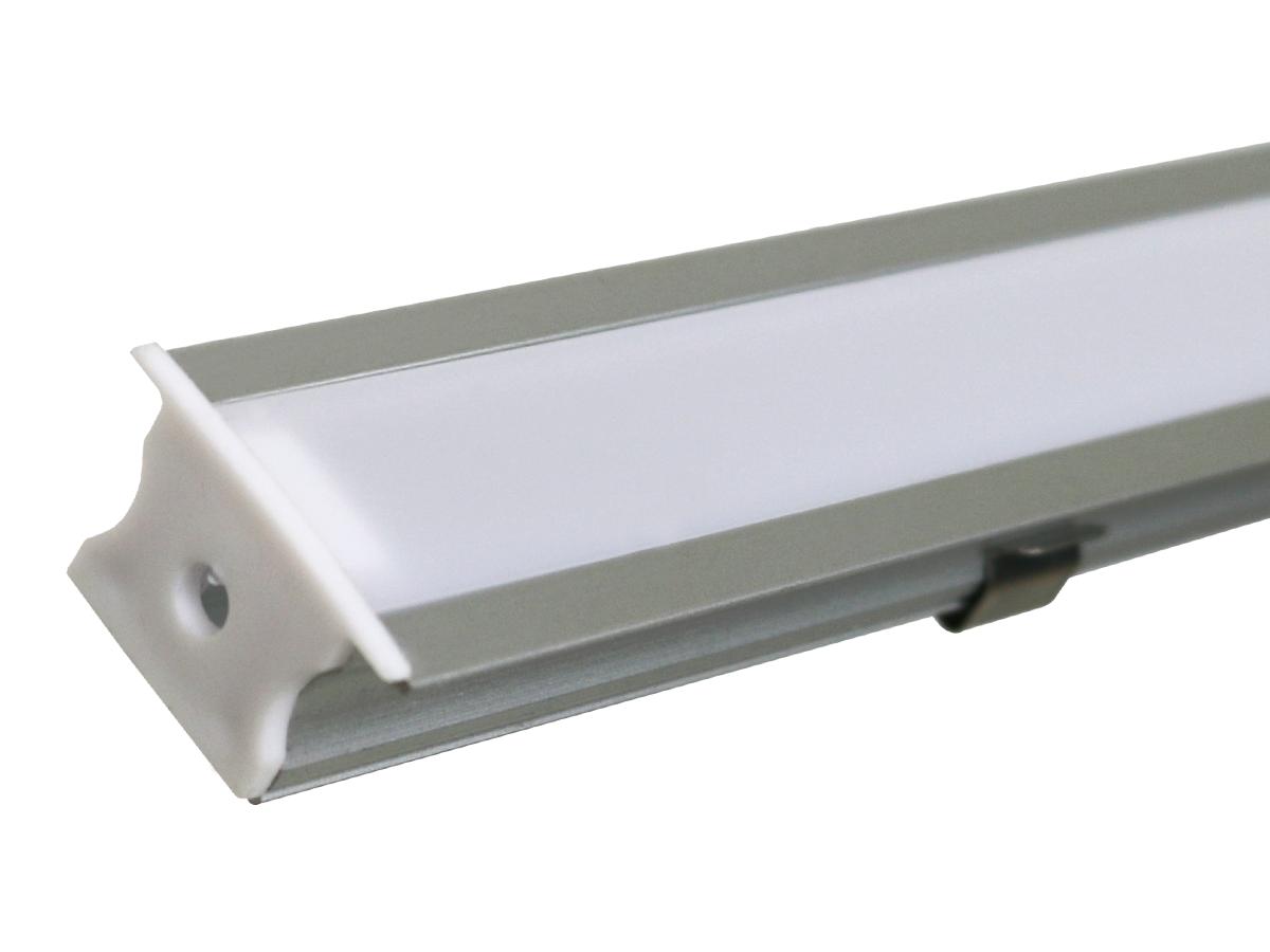 PERFIL 25MM EMBUTIR 1 METRO DIVERSAS CORES - i9 LED