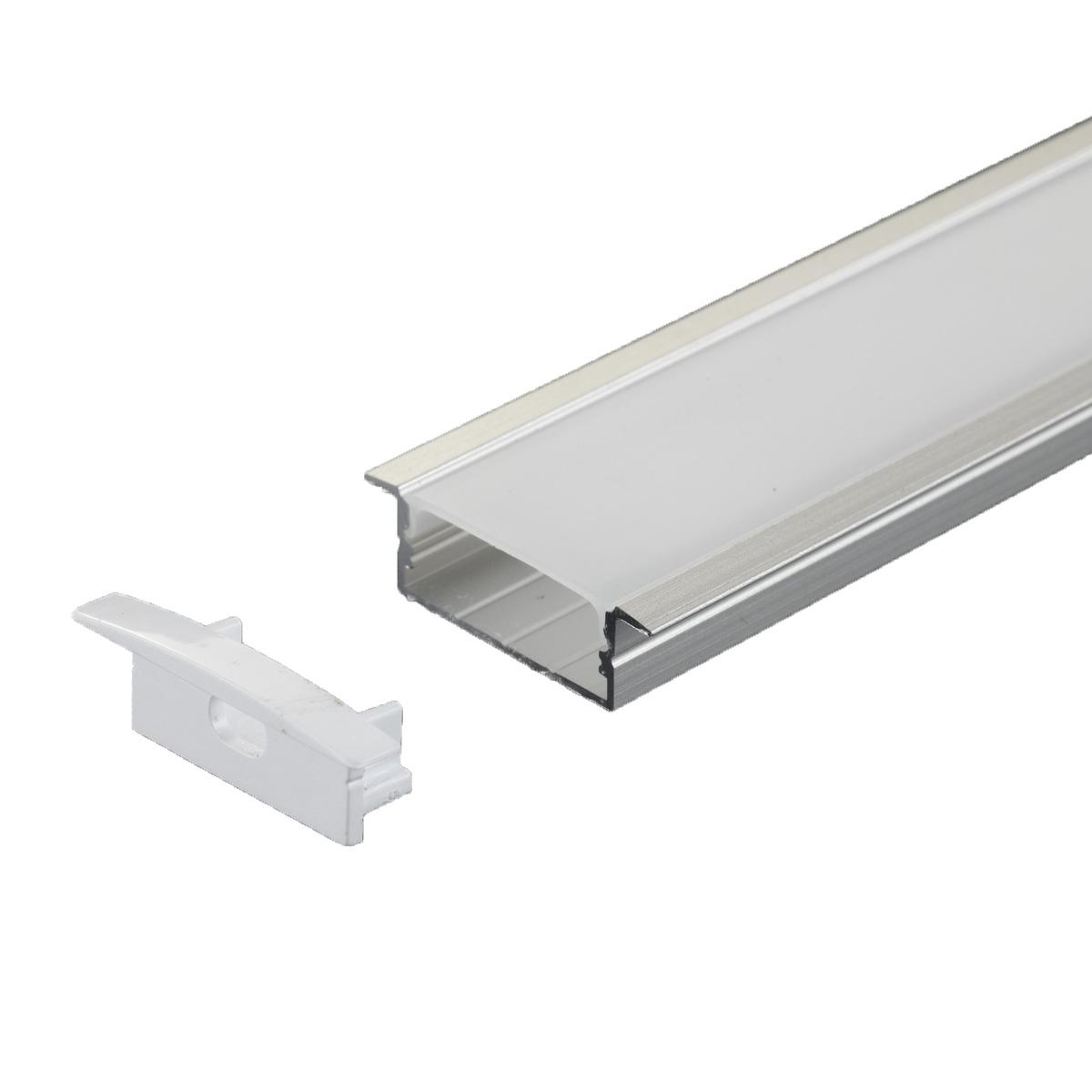 PERFIL 30.5X9.3MM EMBUTIR 1 METRO DIVERSAS CORES AL-2310B - i9 LED