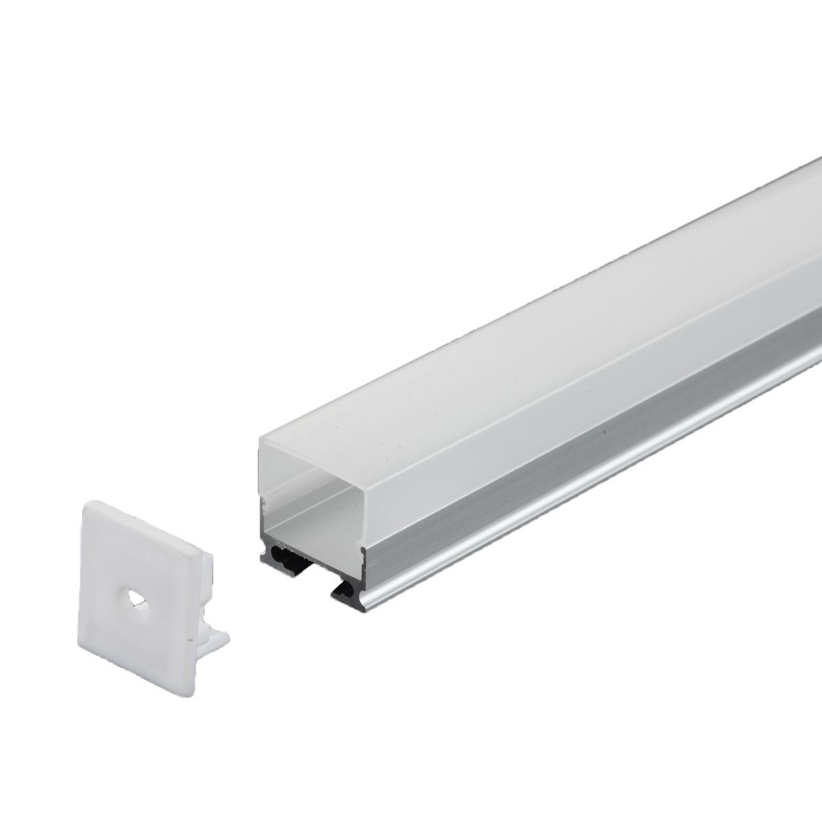 PERFIL SOBREPOR 20X10.3MM 1 METRO DIVERSAS CORES AL-616 - i9 LED