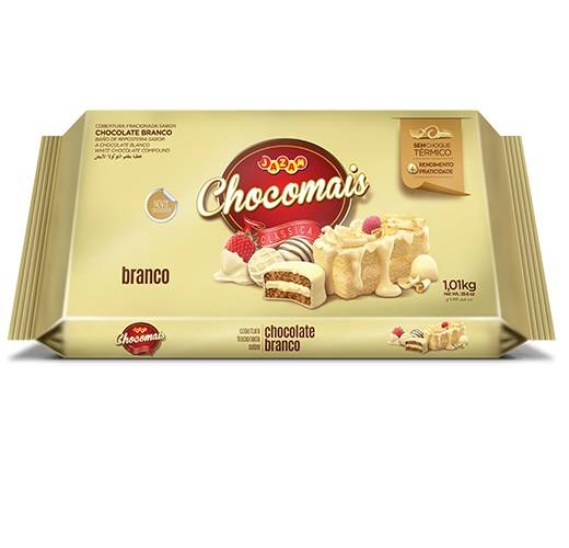 Chocomais Branco - 1,01kg - Jazam Alimentos