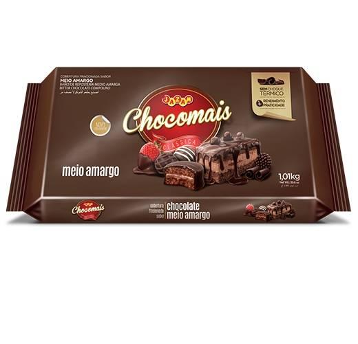 Chocomais Meio Amargo - 1,01kg - Jazam Alimentos