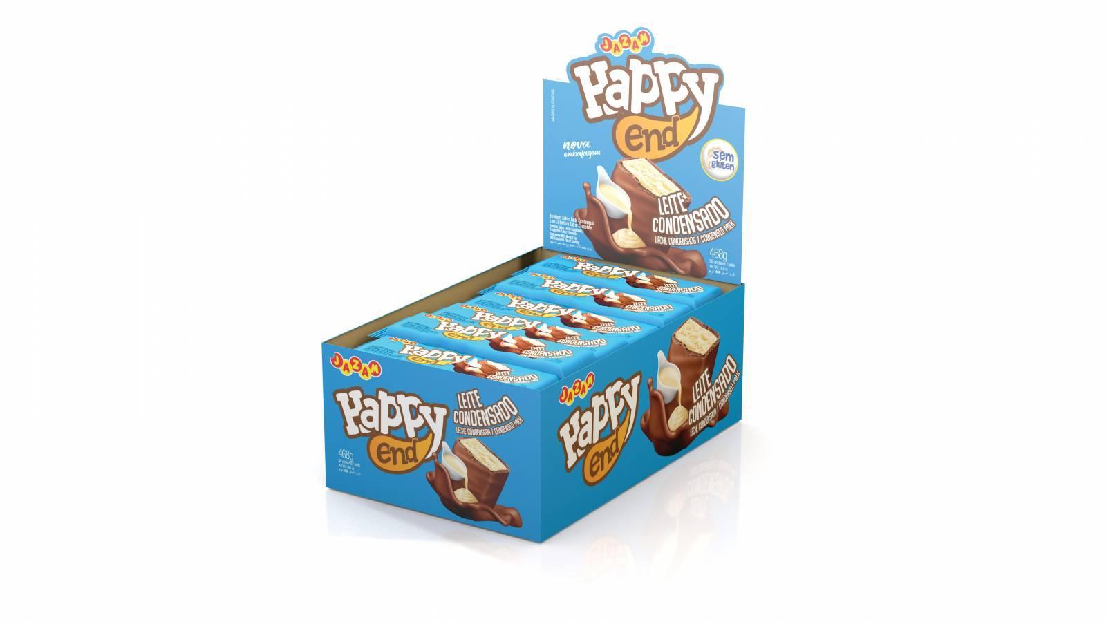 Bombom Happy End Leite Condensado - 468g - Jazam Alimentos