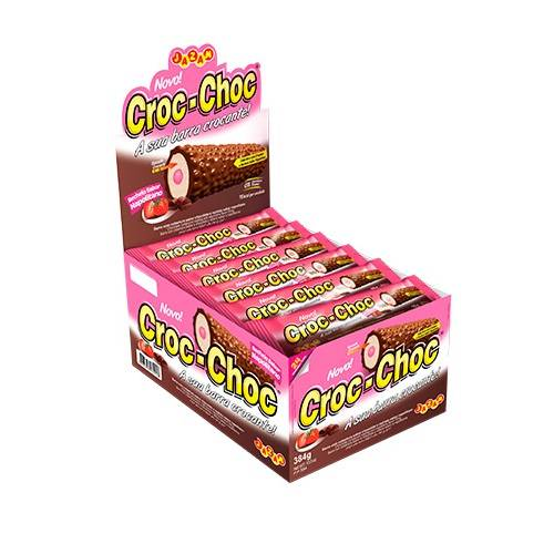 Croc-Choc Napolitano - 384g - Jazam Alimentos