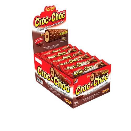 Croc-Choc Chocolate - 384g - Jazam Alimentos