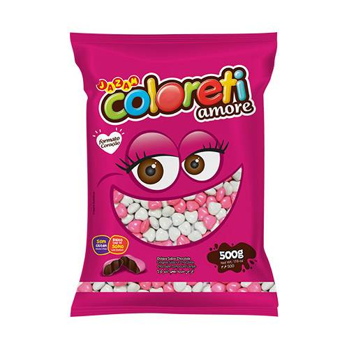 Coloreti Amore 500g - Jazam Alimentos