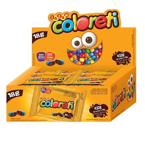 Coloreti 432g - Jazam Alimentos