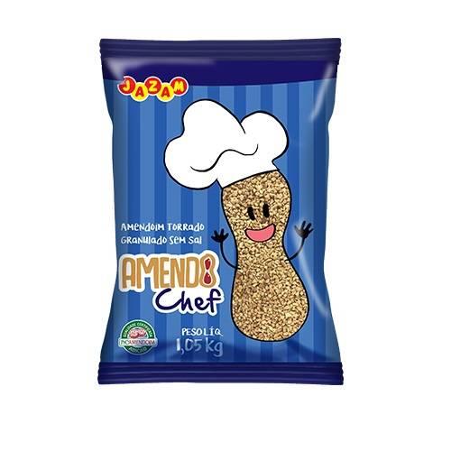 Amendochef Em Pedaços - 1,05kg - Jazam Alimentos