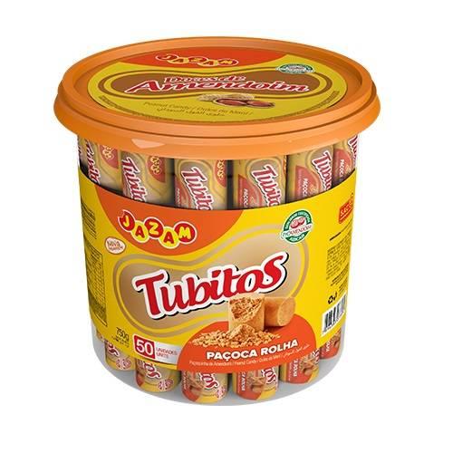 Tubitos Pote 750g - Jazam Alimentos