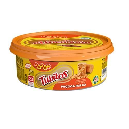 Tubitos Pote 300g - Jazam Alimentos