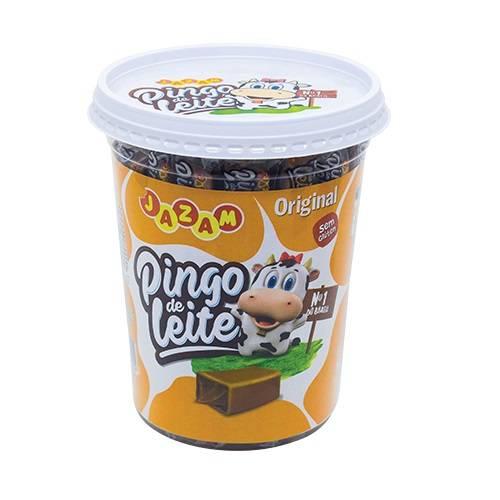 Pingo de Leite Tradicional - Pote 500g - Jazam Alimentos