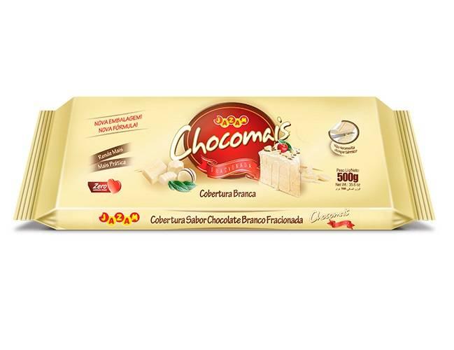 Chocomais Branco - 500g - Jazam Alimentos