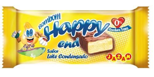 Bombom Happy End Leite Condensado - 144 unidades - Jazam Alimentos