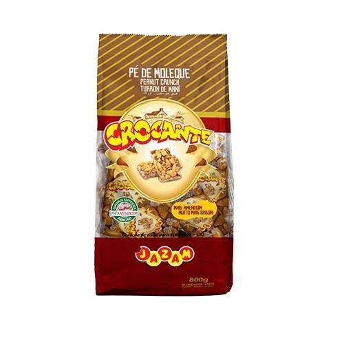 Crocante Pacote 800g - Jazam Alimentos