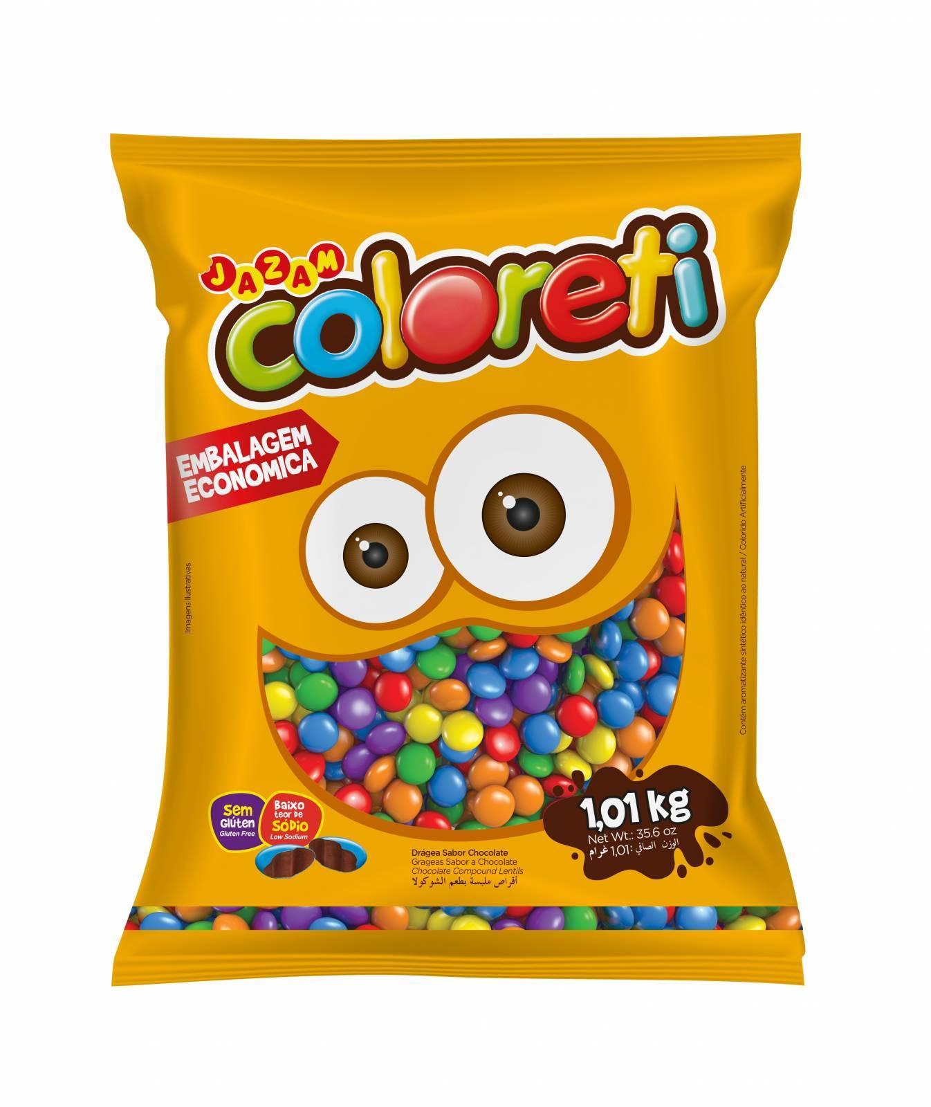 Coloreti Mini 1,01kg - Jazam Alimentos