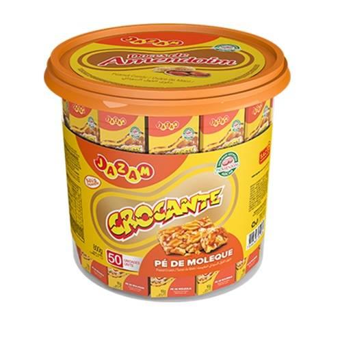 Crocante Pote 800g - Jazam Alimentos