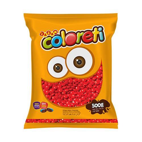 Coloreti Vermelho 500g - Jazam Alimentos