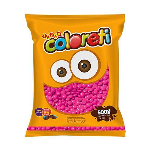 Coloreti Rosa 500g - Jazam Alimentos