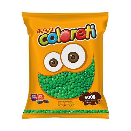 Coloreti Verde 500g - Jazam Alimentos