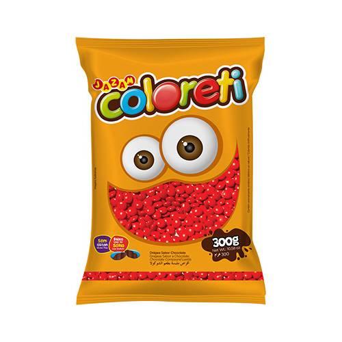Coloreti Vermelho 300g - Jazam Alimentos