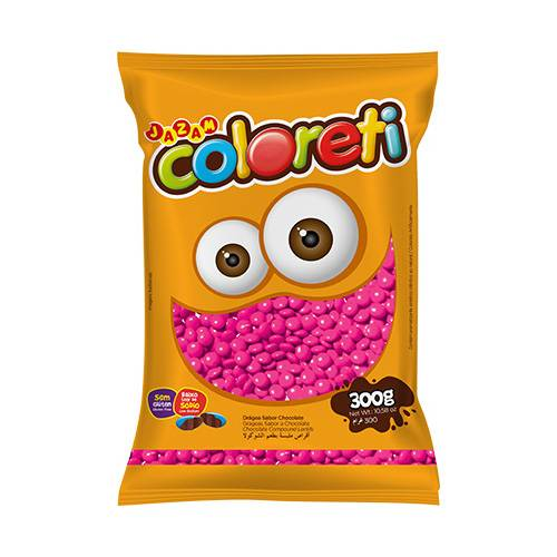 Coloreti Rosa 300g - Jazam Alimentos