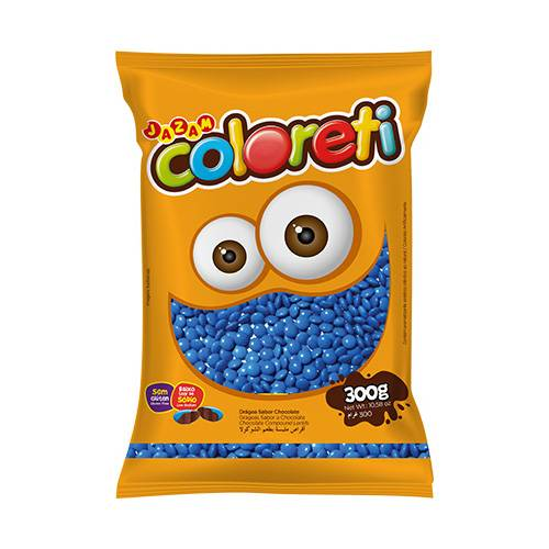 Coloreti Azul 300g - Jazam Alimentos