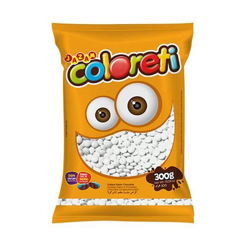 Coloreti Branco 300g - Jazam Alimentos