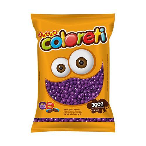 Coloreti Lilás  300g - Jazam Alimentos
