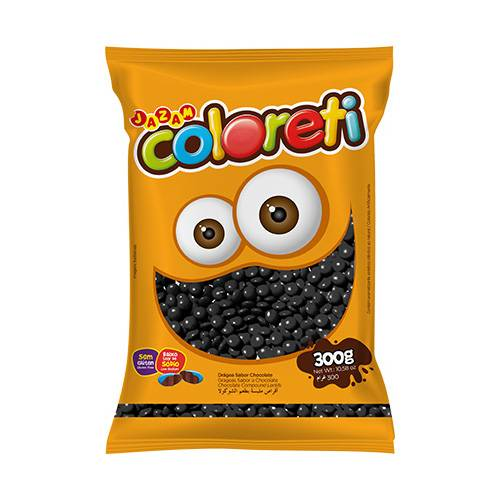 Coloreti Preto 300g - Jazam Alimentos