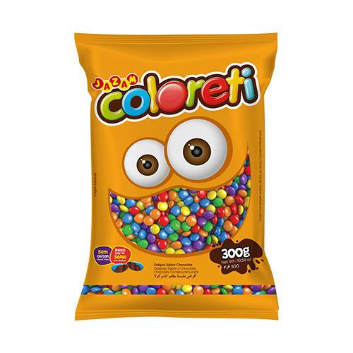 Coloreti Mini 300g - Jazam Alimentos
